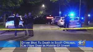Man Shot And Killed, Car Flips Over In South Chicago [Video]