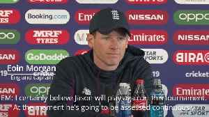 News video: Eoin Morgan confident of Roy return