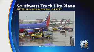 Southwest Airlines Plane Hit By Truck At Pittsburgh International Airport [Video]