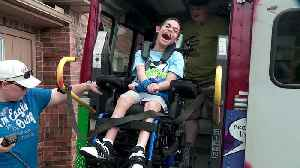 Businesses Help Make Over Bus for Family Who Adopts Kids with Special Needs [Video]
