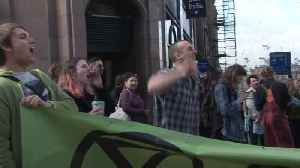 Environmental protesters bring disruption to parts of Edinburgh [Video]
