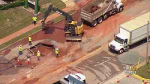 Second Water Main Break In A Week Closes York Road In Baltimore County [Video]