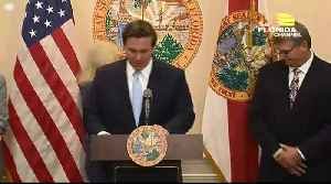 WEB EXTRA: Governor Ron DeSantis' Press Conference On Election Security [Video]
