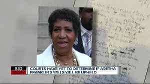 Tension developing in Aretha Franklin will dispute [Video]