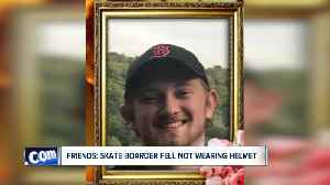 Skate boarder dies after skating accident without helmet [Video]
