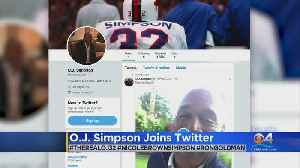 Trending: OJ Simpson Joins Twitter [Video]