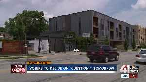 Voters to decide on 'Question 1' [Video]