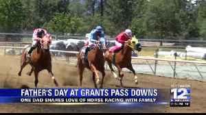 News video: Spending Father's Day at the race track