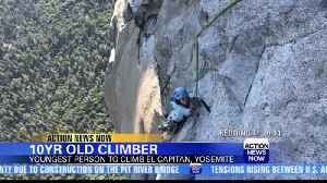 10-year-old becomes youngest to climb El Capitan [Video]