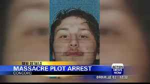 Bay Area man faces charges for plotting massacre: Concord police [Video]
