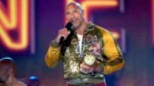 Dwayne Johnson Delivers Inspiring Speech While Accepting The Generation Award at 2019 MTV Movie & TV Awards | THR News [Video]