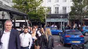 South Western Railway strikes cause 'half a mile' long queue at Surbiton train station [Video]