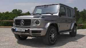 Mercedes-Benz G 400 d in Mojave Silver Driving Video [Video]