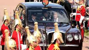 Queen Elizabeth Gathers Knights For Annual Order Of The Garter Service [Video]