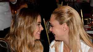 Cara Delevingne: 'It was the perfect time to go public with Ashley Benson romance' [Video]