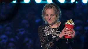 Elisabeth Moss Wins 'Best Performance In A Show' At MTV Movie And TV Awards [Video]
