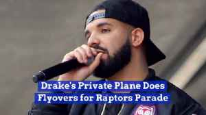 Drake Makes A Bold Statement At Raptors Parade [Video]