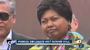 Foreign diplomats visit US-Mexico border in San Diego [Video]