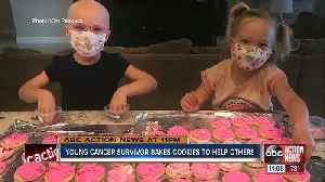 5-year-old cancer survivor bakes, sells cookies to support other pediatric cancer patients [Video]