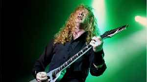 Megadeth Founder Dave Mustaine Diagnosed With Cancer [Video]
