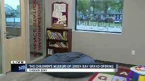 Grand re-opening of The Children's Museum of Green Bay in new location [Video]
