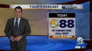 South Florida Tuesday afternoon forecast (6/18/19) [Video]