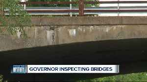 Gov. Whitmer inspecting bridges in metro Detroit [Video]