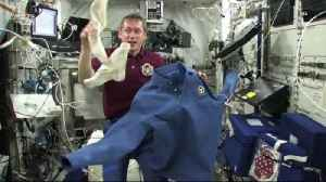 Laundry Day in Space: How Do Astronauts Wash Their Clothes? [Video]