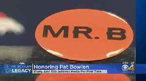 'MR. B' Decals To Don Broncos Helmets To Honor Pat Bowlen [Video]