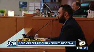 SDPD officer recounts deadly shooting of partner [Video]