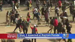 Multpile Injured, 2 Suspect Arrested After Shots Fired Near Toronto Raptors Parade [Video]