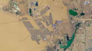 What The World's Largest Solar Park Looks Like From Space [Video]