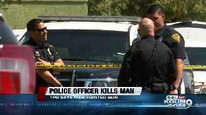 TPD officer kills man in close-quarters confrontation [Video]