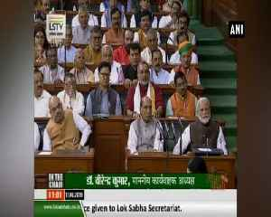 PM Modi takes oath as Lok Sabha MP [Video]