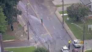 Water Main Break Forces Bel Air Road Closure, Hundreds Without Water [Video]