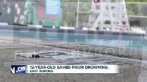 12-year-old saved from drowning [Video]