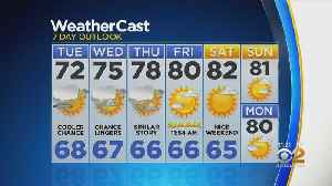 New York Weather: CBS2 6/17 Nightly Forecast at 11PM [Video]