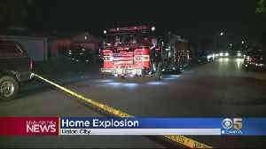 Explosion At Union City Home Reportedly Injures 2 [Video]