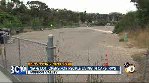 City opens lot for people living in RVs but there are few takers [Video]