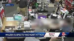 Fake heart attack used to distract clerk in Malden robbery [Video]