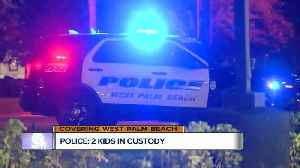 2 juveniles in custody after police activity near Palm Beach Lakes Boulevard gas station [Video]