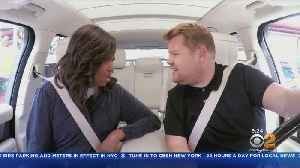 James Corden Challenges Michelle Obama To Dodgeball [Video]