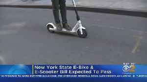 NYS E-Bike, E-Scooter Bill Expected To Pass [Video]