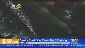 5 Freeway Reopens In Anaheim After Fatal Crash [Video]