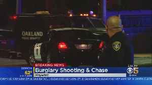 POLICE CHASE: Hayward burglary suspects fire on police and then pursued into Oakland [Video]