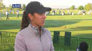 Golfer Maria Fassi Talks Adapting To Pro Life [Video]