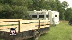 Man Ticketed After Living in a Camper on His Land [Video]