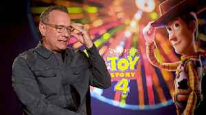 'Toy Story 4': Exclusive Interview With Tom Hanks [Video]