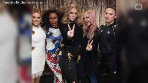 Adele Attends Spice Girls Concert [Video]
