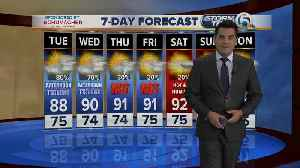 Tuesday midmorning forecast [Video]